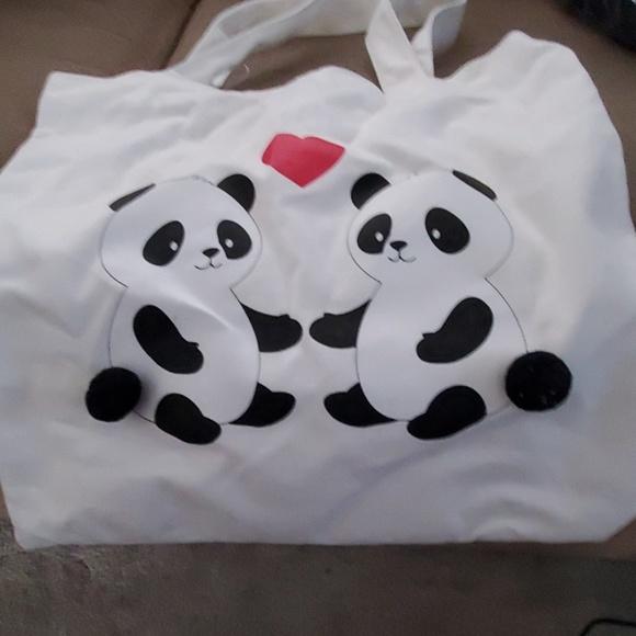 Forever 21 Handbags - Panda Love Tote